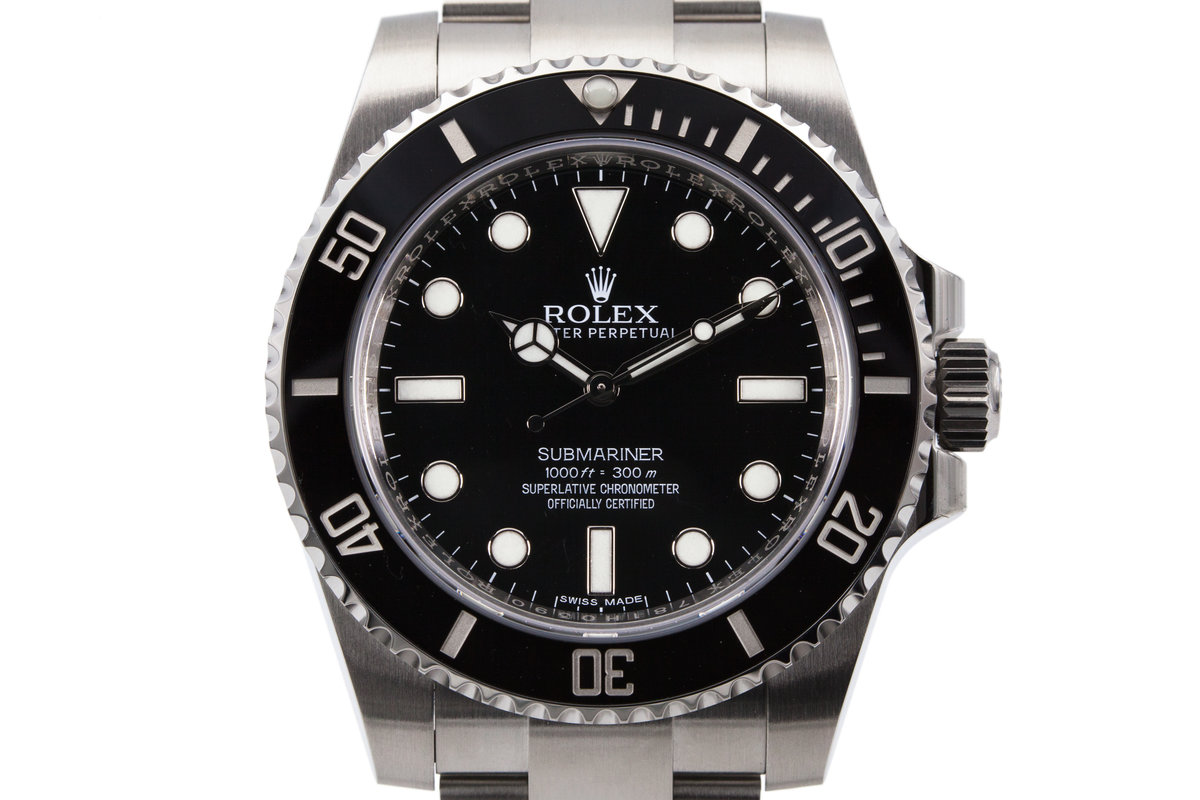 hq milton 2016 rolex submariner 114060 inventory 8474. Black Bedroom Furniture Sets. Home Design Ideas