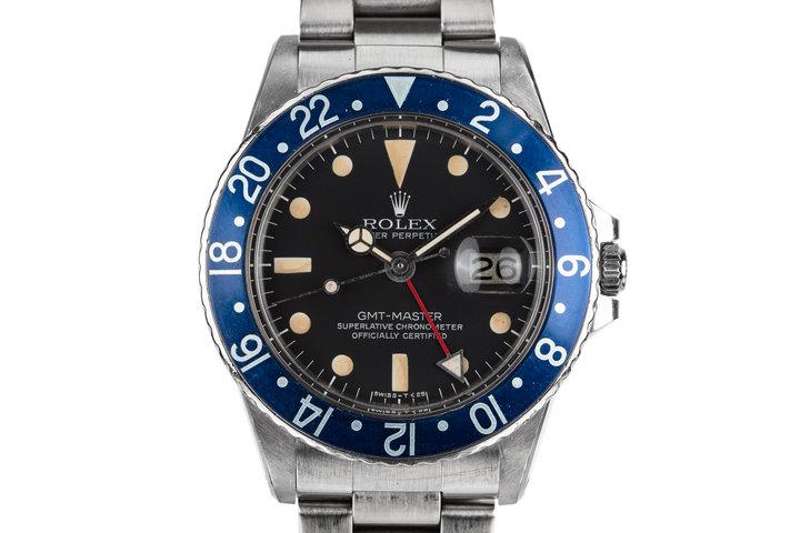 1977 Rolex GMT-Master 1675 Blueberry photo