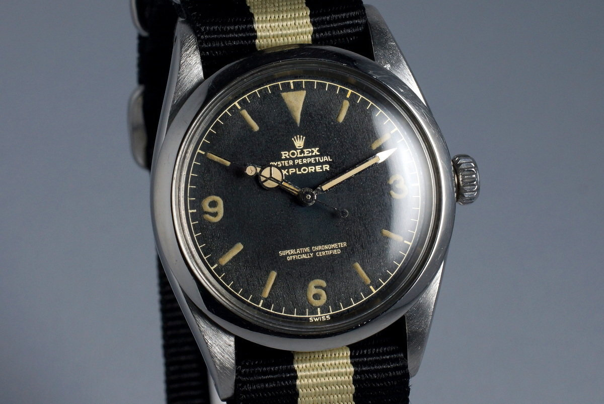 1960 Rolex Explorer 1016 Glossy Gilt Dial with Papers photo, #1