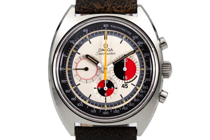 1967 Omega Seamaster 145.020 White Soccer Dial photo