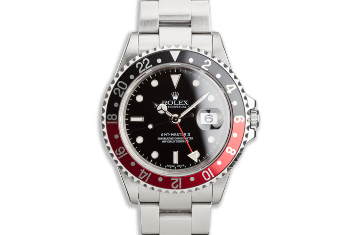"2000 Rolex GMT-Master II 16710 ""Coke"" Bezel photo"