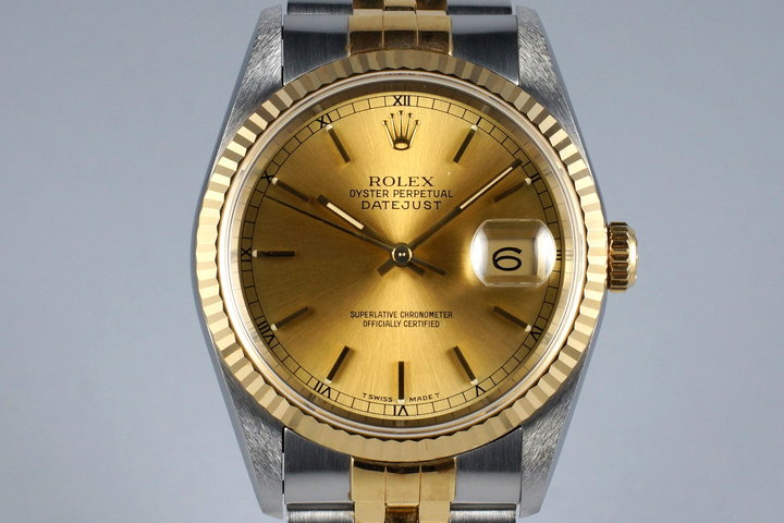 1991 Rolex Two Tone DateJust 16233 photo
