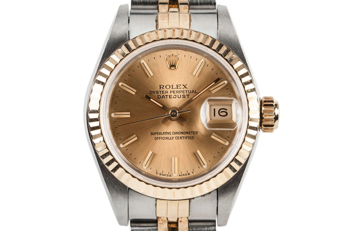 1992 Rolex Two Tone Ladies DateJust 69173 photo, #0