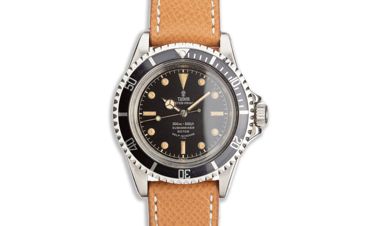 Vintage 1964 Tudor Submariner Oyster Prince 7928 Gilt Chapter Ring Underline Dial photo
