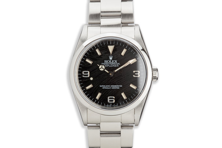 "1991 Rolex Explorer 14270 ""Frozen"" Dial photo"
