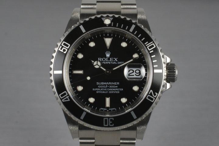 2005 Rolex Submariner 16610T photo