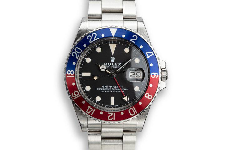 """1972 Rolex GMT-Master 1675 """"Pepsi"""" photo"""