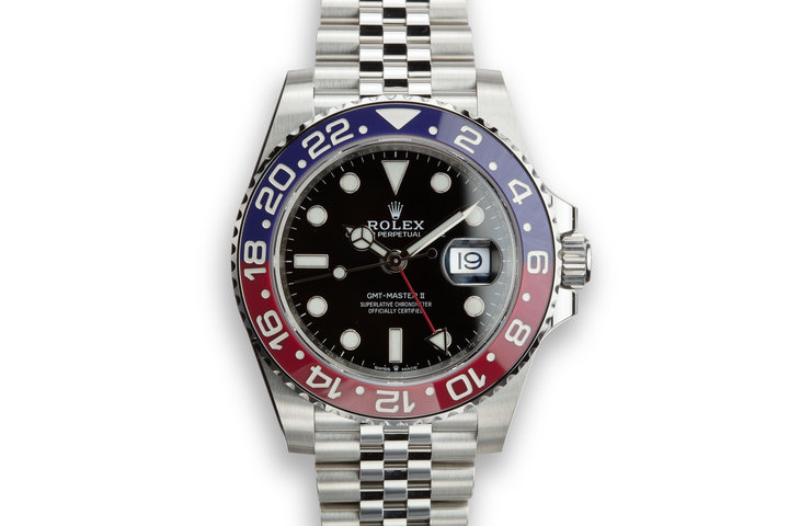 "2019 Rolex GMT-Master II 126710BLRO ""Pepsi"" with Box and Card photo"