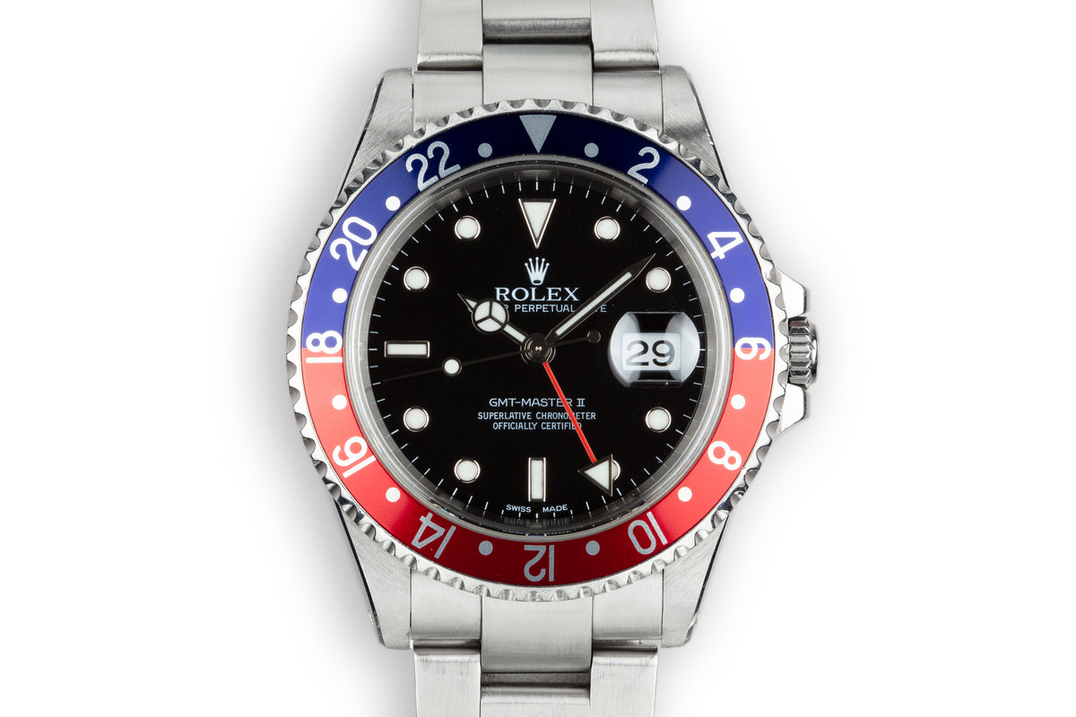 "2002 Rolex GMT-Master II 16710 ""Pepsi"" photo, #0"