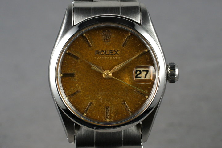 1960 Rolex OysterDate 6466 Tropical Dial photo