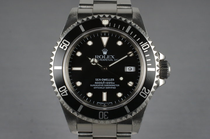 1996 Rolex Sea Dweller 16600 photo