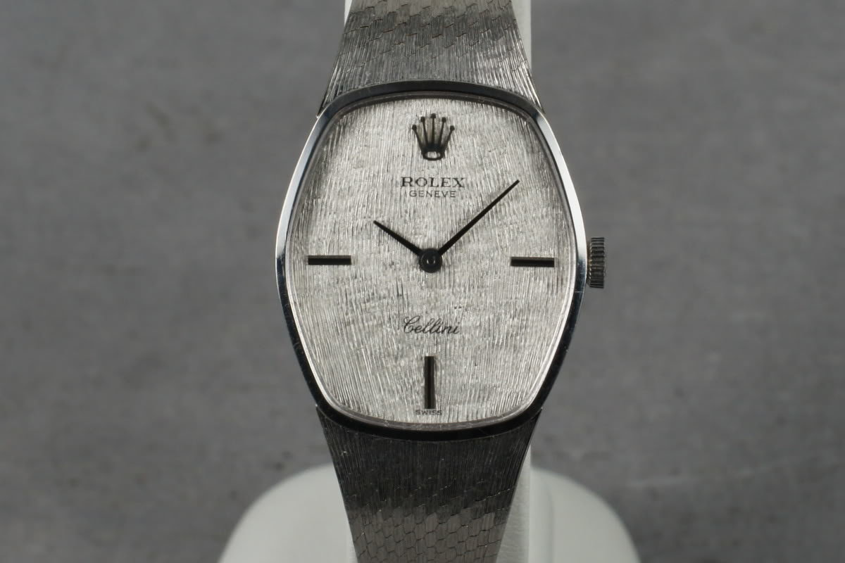 1970 Rolex Ladies White Gold Cellini with papers photo, #0