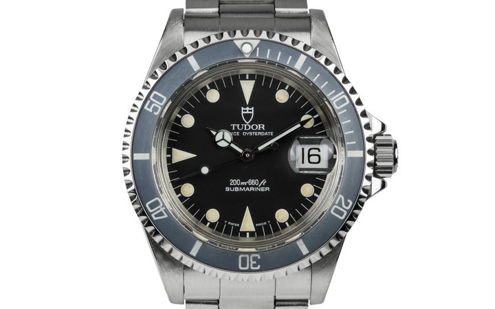 1995 Tudor Submariner 79090 with Faded Bezel insert and Box and Papers photo