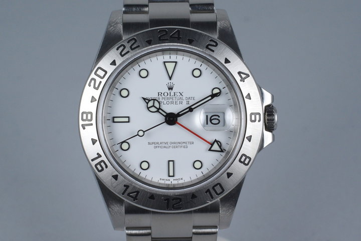 2005 Rolex Explorer II 16570 photo
