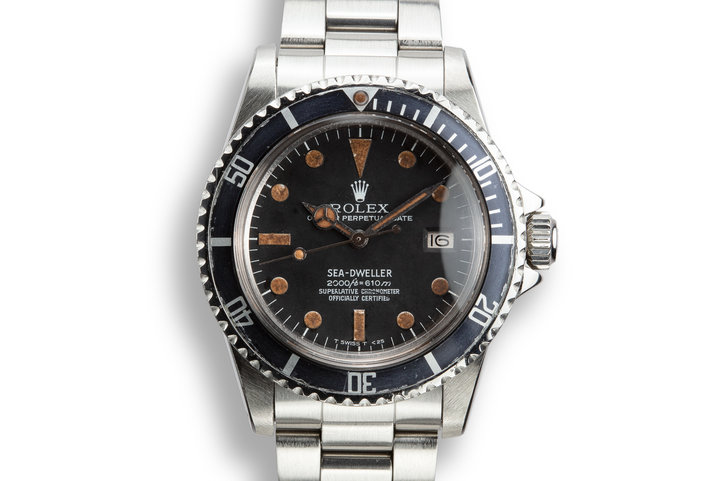 1978 Rolex Sea-Dweller 1665 Rail Dial photo