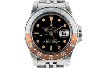 1965 Rolex GMT-Master 1675 with Gilt Dial photo