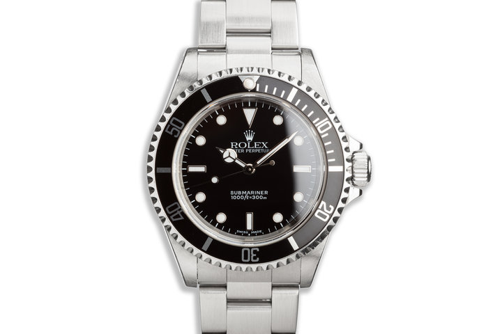 2000 Rolex Submariner 14060M photo