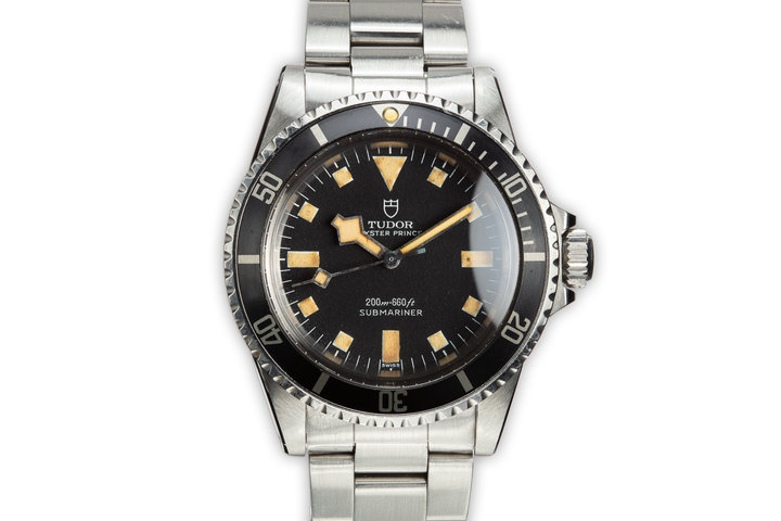 1968 Tudor Submariner Snowflake 7016/0 Black Dial photo