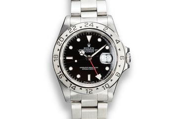 1991 Rolex Explorer II 16570 Black Dial photo