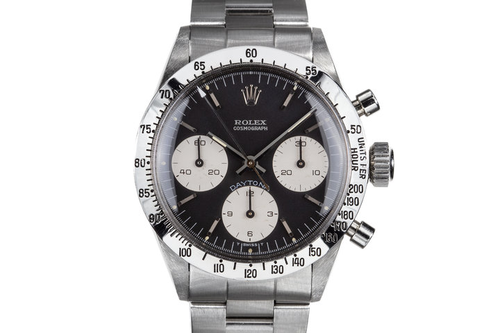 "1970 Rolex Daytona 6262 with Black ""Blue Daytona"" Dial photo"