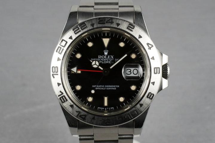 Rolex Explorer II  16550  black dial photo