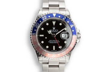 """2000 Rolex GMT-Master 16710 """"Pepsi"""" photo"""
