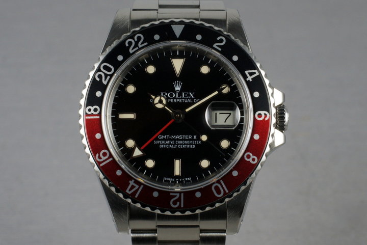 1985 Rolex Mens 16760 Fat Lady GMT-Master II photo