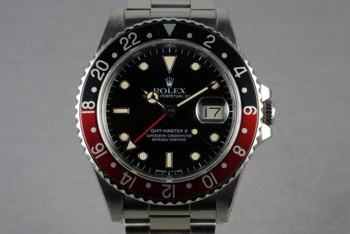 1985 Rolex Mens 16760 Fat Lady GMT-Master II photo