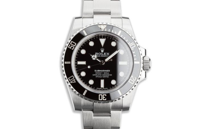 2018 Rolex Submariner 114060 with Box & Card photo