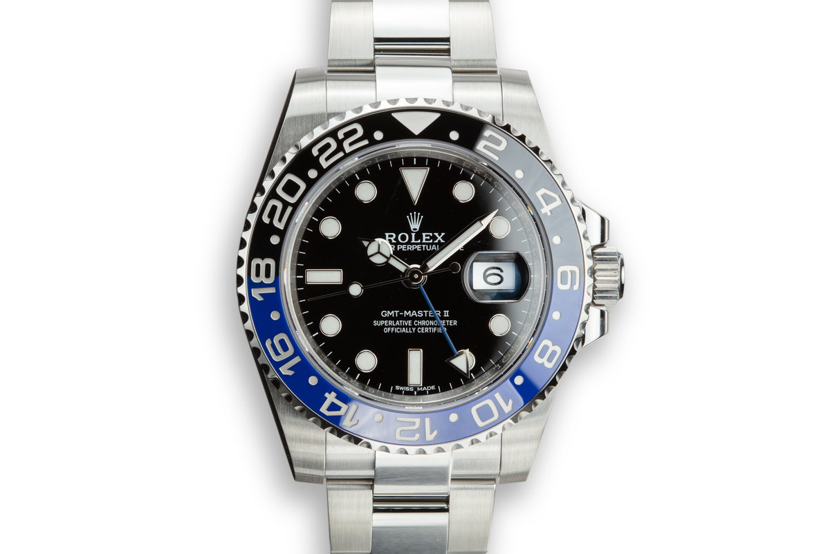 "2018 Rolex GMT-Master II 116710BLNR ""Batman"" with Box and Papers photo, #0"