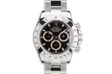 2007 Rolex Daytona 116520 Black Dial photo