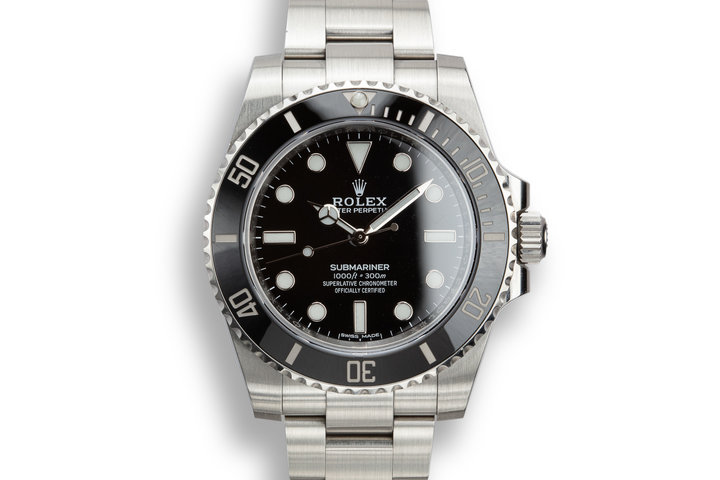 Rolex Submariner 114060 with Box photo