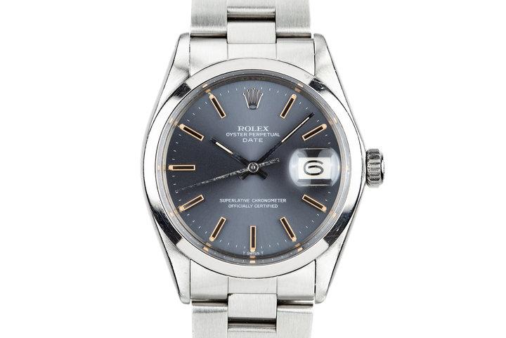 1971 Rolex Date 1500 Grey Dial photo