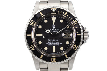 1977 Rolex Submariner 1680 with Box and RSC Card photo