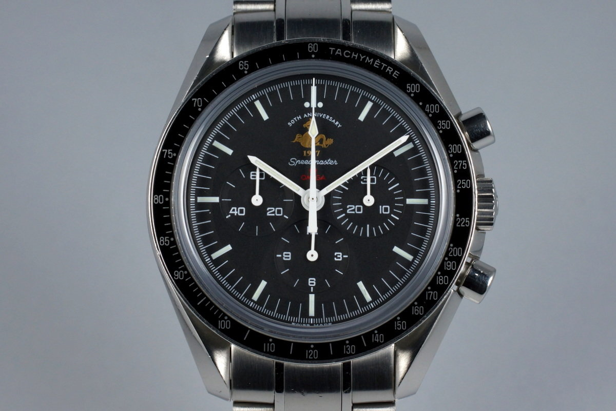 2007 Omega Speedmaster 311.30.42.30 50th Anniversary Limited Ed. with Box and Papers photo, #0