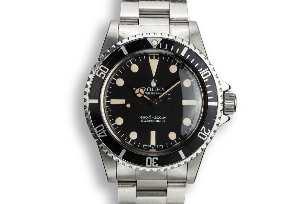 1976 Rolex Submariner 5513 with Pre-Comex Dial photo, #0