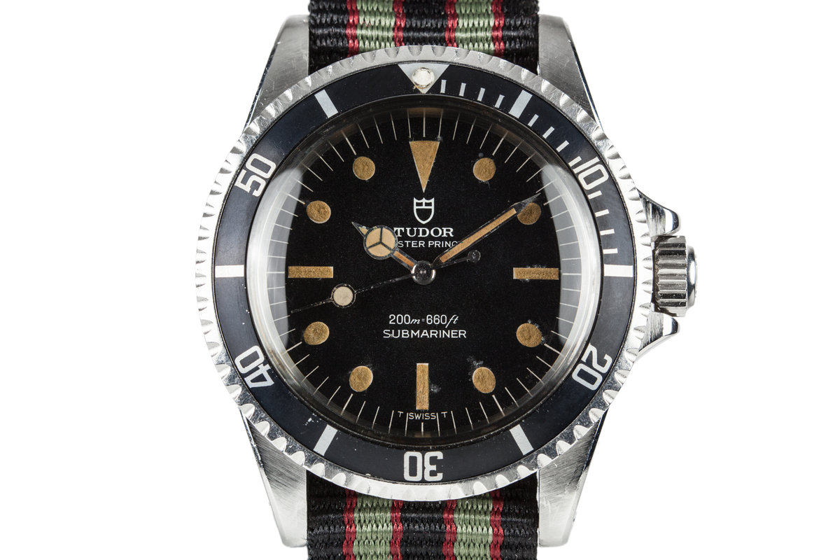 1968 Tudor Submariner 7016/0 photo, #0