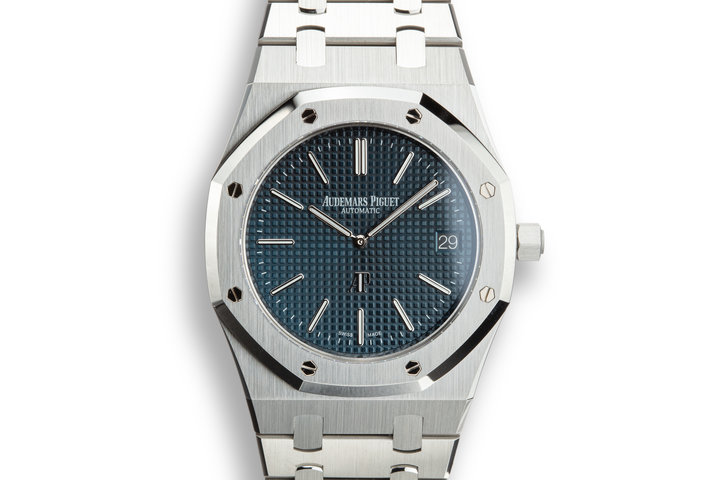 "Audemars Piguet Royal Oak ""Jumbo"" Extra-Thin 15202ST.OO.1240ST.01 with Box and Papers photo"