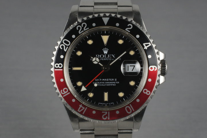 1991 Rolex GMT II 16710 photo