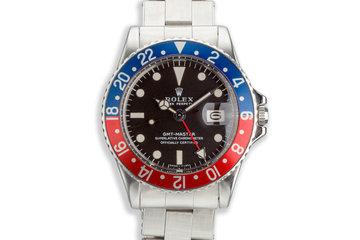 "1968 Vintage Rolex GMT Master 1675 ""Pepsi"" photo"