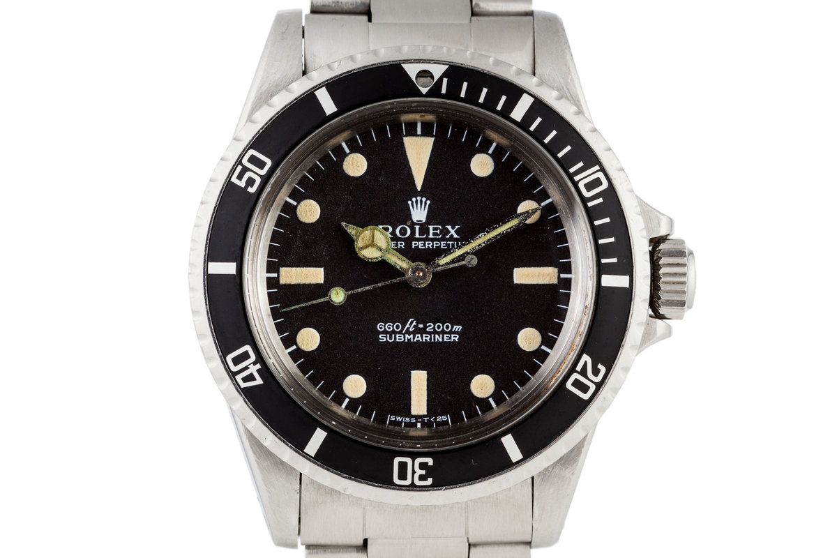 "1973 Rolex Submariner 5513 'Non-Serif"" Dial photo, #0"