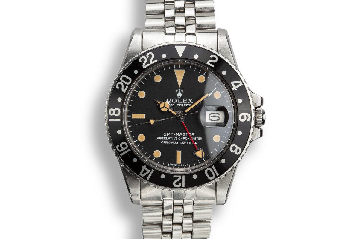 1971 Rolex GMT-Master 1675 Black Insert photo, #0