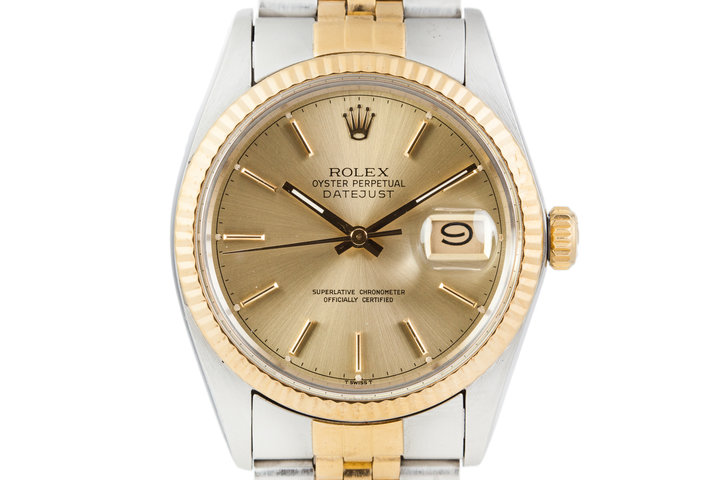 1983 Rolex Two Tone Date-Just 16013 photo