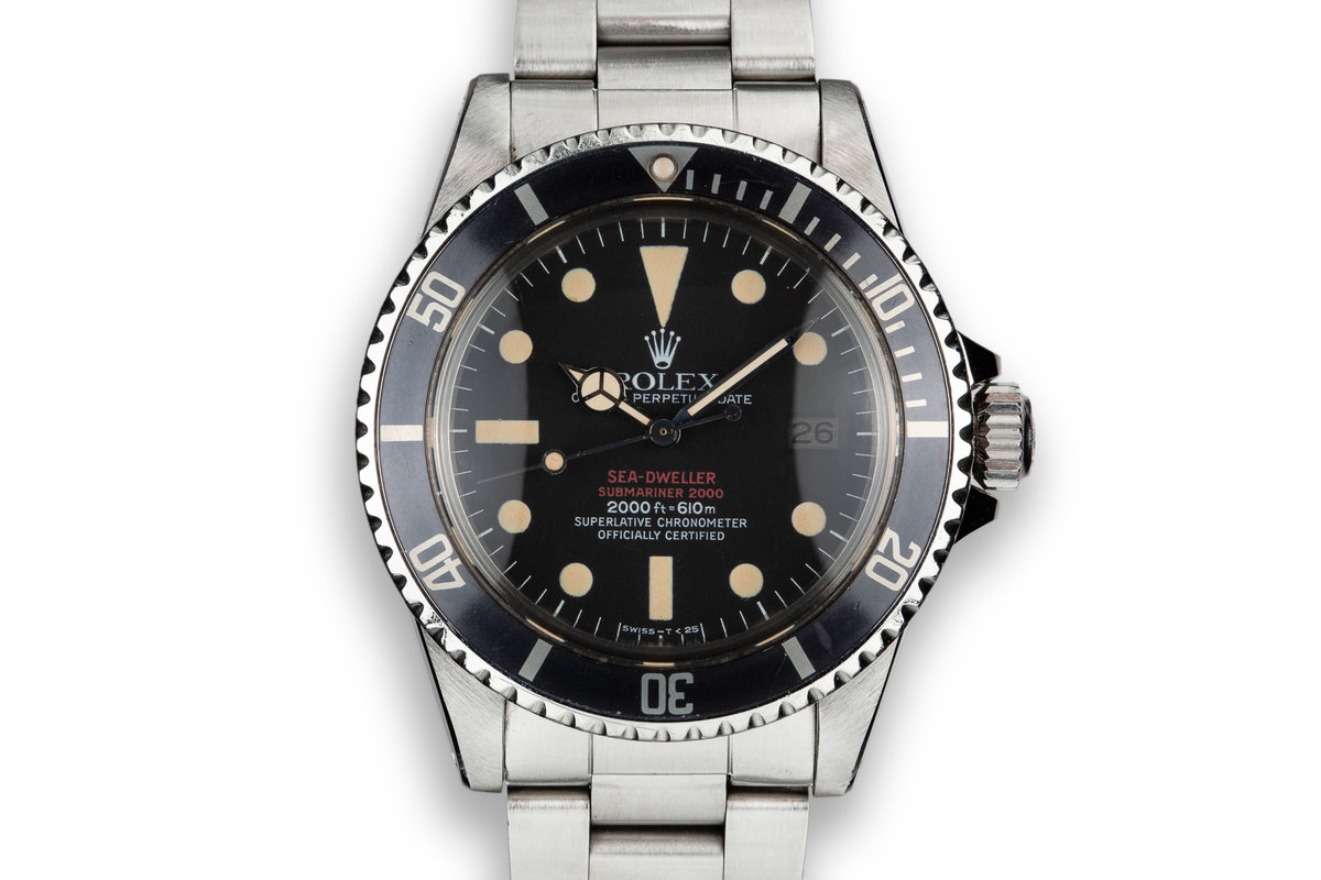 1978 Rolex Double Red Sea-Dweller 1665 with Mark 4 Dial photo, #0