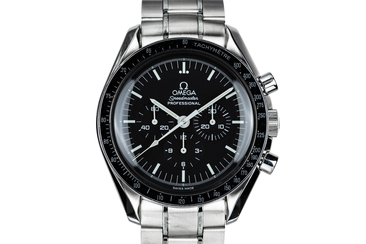 2000 Omega Galaxy Express 999 Speedmaster Professional 3571.50 with Card photo, #0