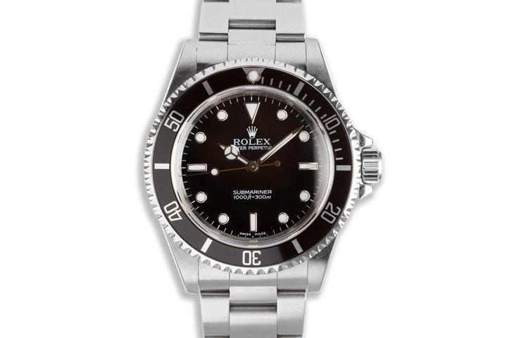 2004 14060M Submariner Box & Papers photo