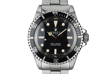 1967 Rolex Submariner 5513 photo