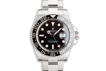 2008 GMT-Master II 116710LN Black Bezel with Box and Card photo