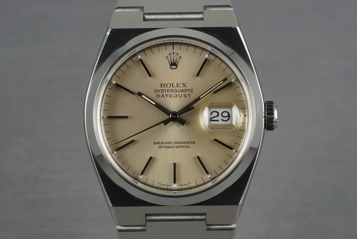 1993 Rolex OysterQuartz Datejust 17000 photo