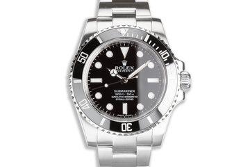 Rolex Ceramic Submariner No-Date 114060 photo